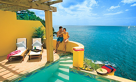 All Inclusive Sandals Regency St Lucia Vacations Resorts